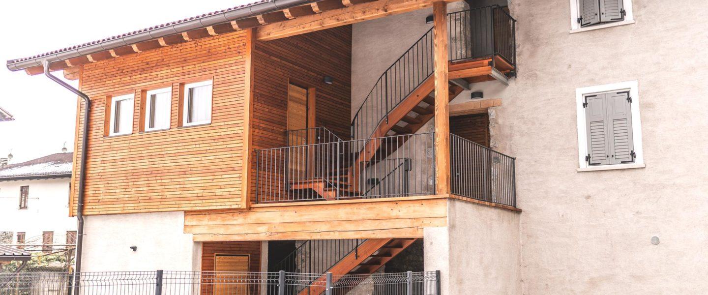 La nostra struttura è suddivisa in 4 appartamenti bi e trilocali